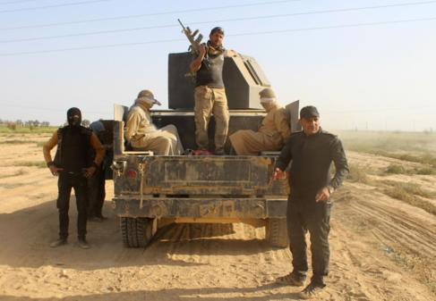 Fuerzas antiterroristas con varios detenidos sospechosos de pertenecer...