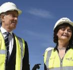 Tony Blair y su esposa Cherie.