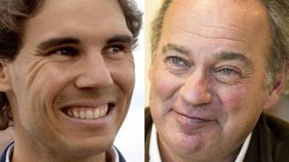 Rafa Nadal y Bertín Osborne