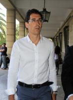 Antonio Juan Vidal Regalado, el día que acudió a declarar al juzgado...