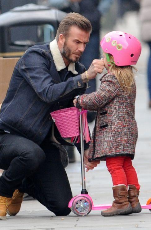 <strong>David Beckham. </strong> Que David Beckham (40) es glamuroso...