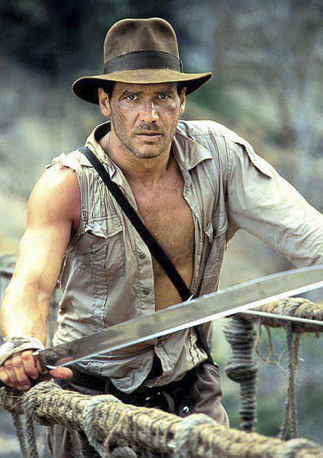 Harrison Ford y Steven Spielberg se unen de nuevo para la quinta entrega de   Indiana Jones . Fotograma de la película de la saga de  Indiana Jones . 0821e80e3c9