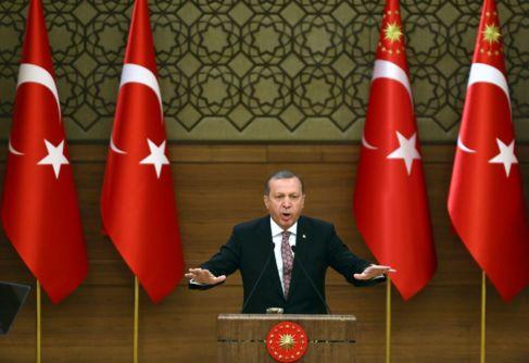 Fotografía de archivo del presidente turco, Recep Tayyip Erdogan, en...