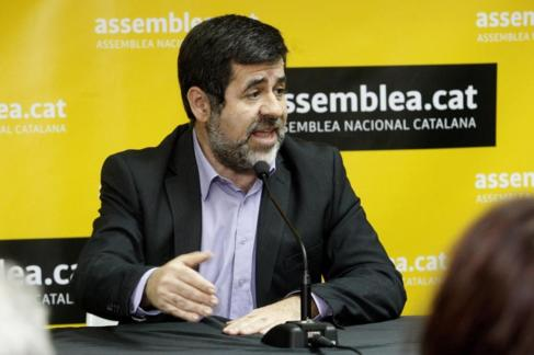 El presidentede la ANC, Jordi Sànchez.