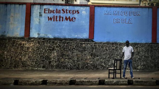Imagen de Unicef de personas que han estado afectadas por ébola.