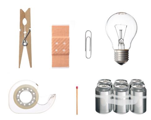 Algunos de los objetos expuestos.