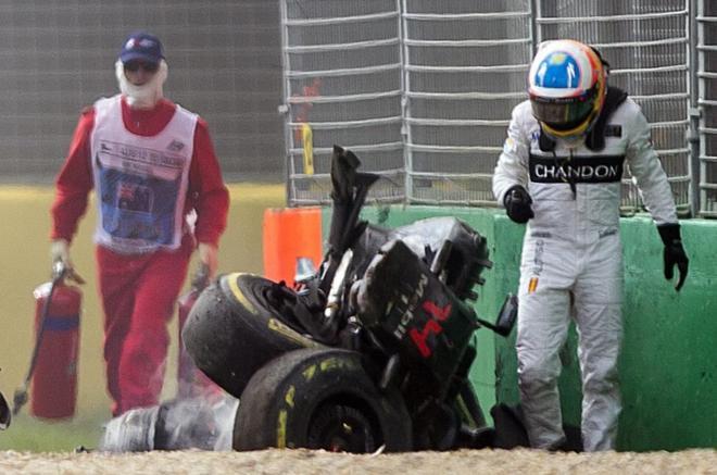 Circuito Fernando Alonso Accidente : Los peores accidentes de fernando alonso en su carrera