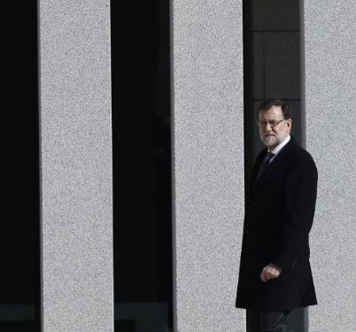 Mariano Rajoy, durante la inauguración de la nueva Academia de...