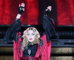 Madonna, en uno de losconciertos de su gira, el pasado día 16.