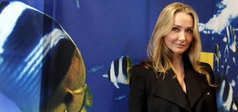 Entrevista a Alexandra Cousteau en Barcelona