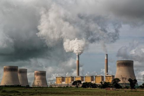 Emisiones de una central energética.