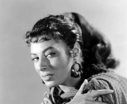 Rita Gam, en un retrato de los años 50.