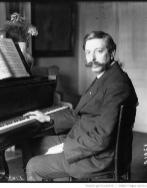 El pianista y compositor español Enrique Granados.