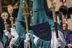 Procesión en la Semana Santa de Málaga.