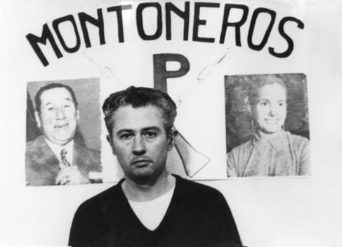 Jorge Born, durante su secuestro.