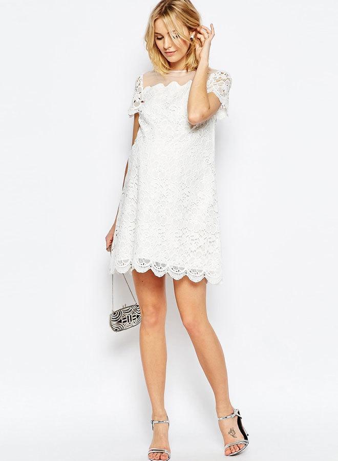 Vestidos blancos cortos asos