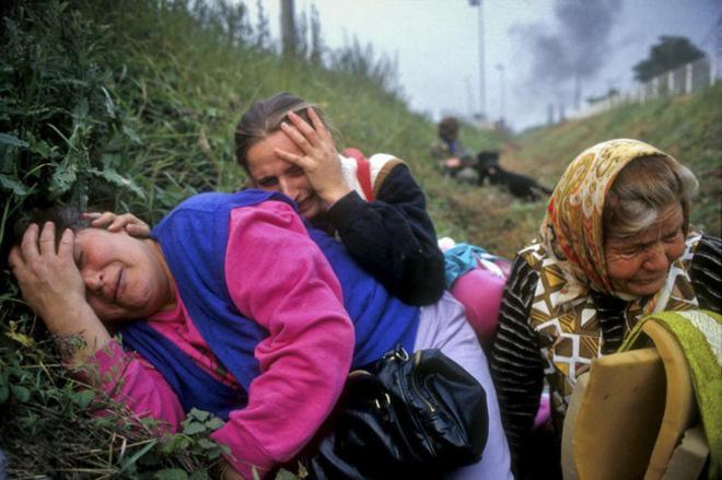 Resultado de imagen para genocidio de eeuu en yugoslavia