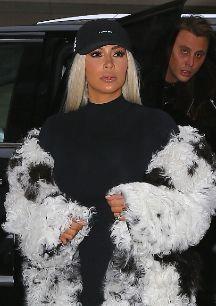 <strong>Kim Kardashian.</strong> La...