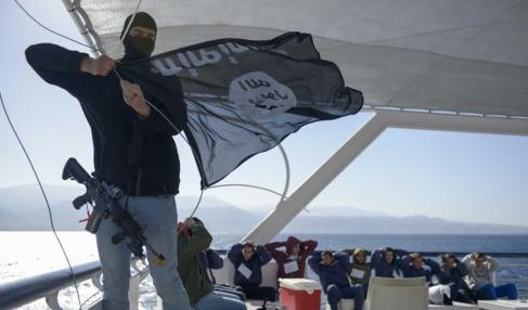 El ensayo de la Marina israelí ante el secuestro de un barco por el...