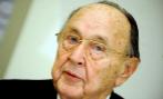 El ex ministro germano Hans-Dietrich Genscher.