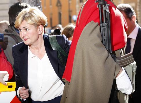 Federica Guidi, ministra italiana de Desarrollo Económico.