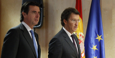 José Manuel Soria y Alberto Núñez Feijoo.