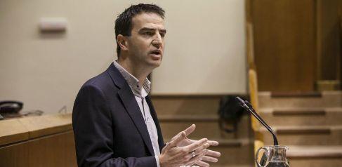 El parlamentario vasco Gorka Maneiro.