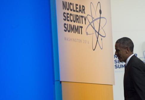 Barack Obama, tras la foto de familia en la Cumbre de Seguridad...