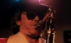 El saxofonista en una imagen de archivo.