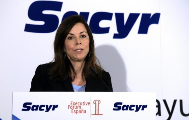 La embajadora de Panamá en España, María Mercedes de la Guardia de...