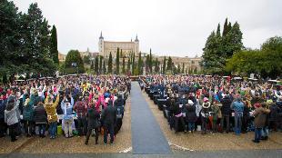Prueba de cásting para concursar en 'Masterchef' celebrada en Toledo.