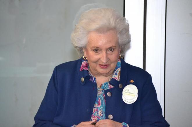 La Infanta Pilar de Borbón, en la inauguración del Rastrillo Nuevo...