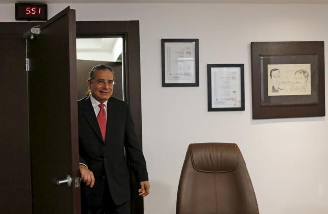 Ramón Fonseca, en su despacho en Ciudad de Panamá el pasado martes.