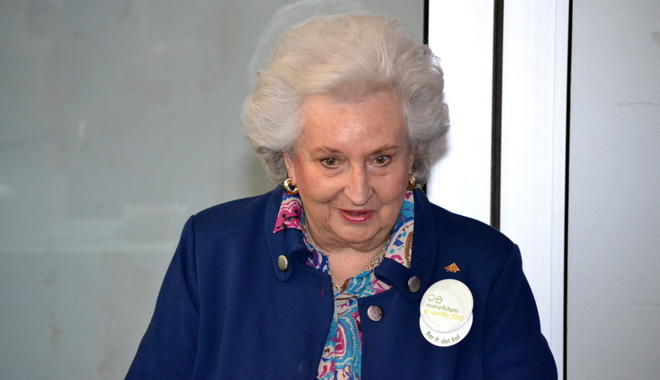La Infanta Pilar de Borbón, en la inauguración de la última...
