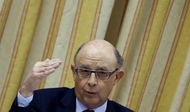 Cristóbal Montoro, durante una reciente comparecencia pública.