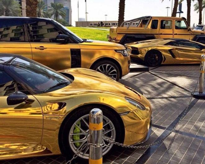 Cuatro de los coches de Abdullah