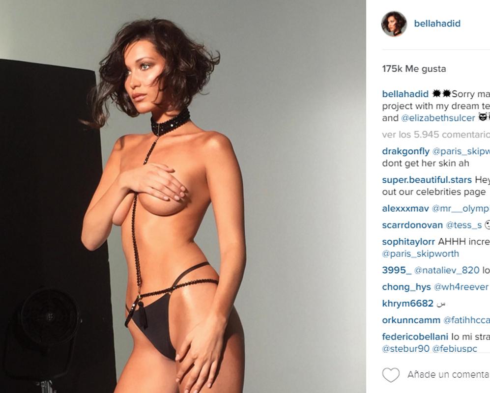 Bella Hadid Se Desnuda Por Primera Vez La Modelo Loc El Mundo