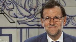 Rajoy, con Cospedal y Arenas hoy en Cuenca.