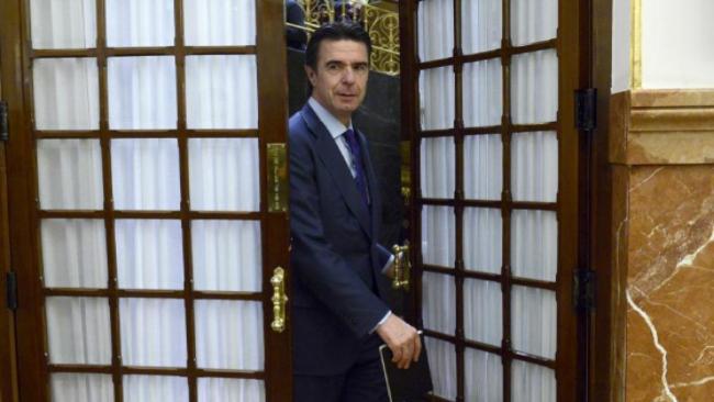 José Manuel Soria, el pasado miércoles, en el Congreso de los...
