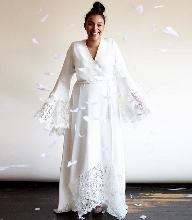 1ce2db572 Vestidos para novias  plus size