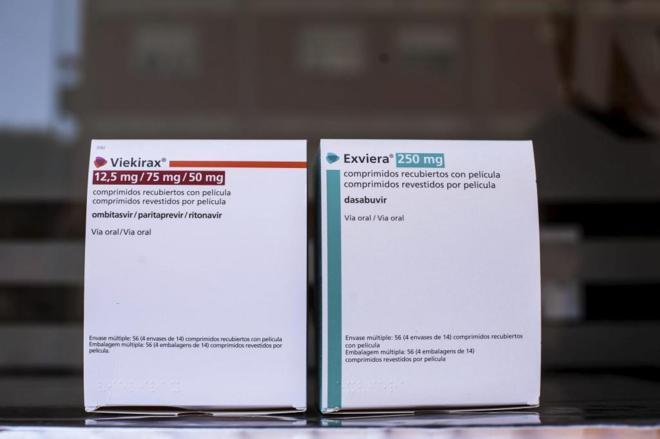 Algunos de los nuevos tratamientos para la hepatitis C.
