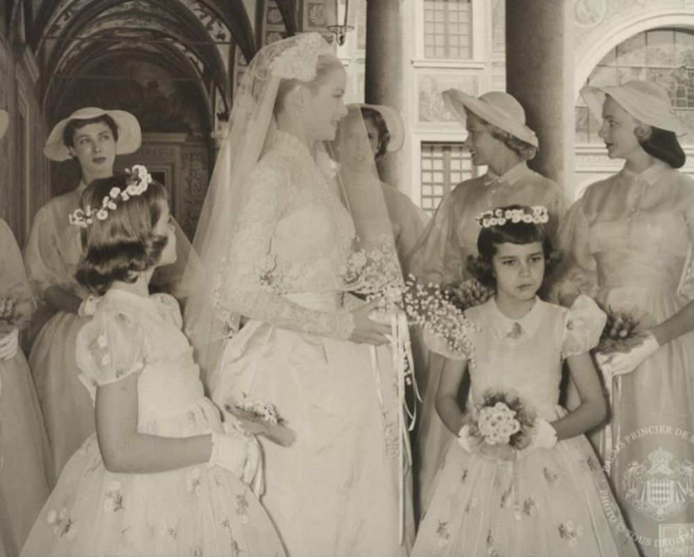 a2df217fb Las fotos nunca vistas de la boda de Rainiero de Mónaco y Grace ...