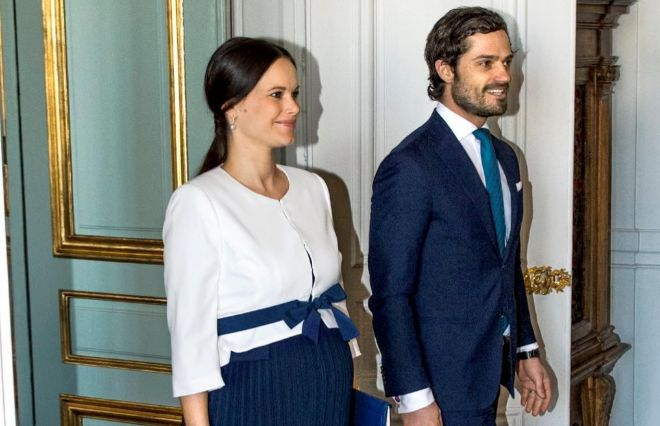 Carlos Felipe y Sofía, en una imagen del pasado mes de marzo.