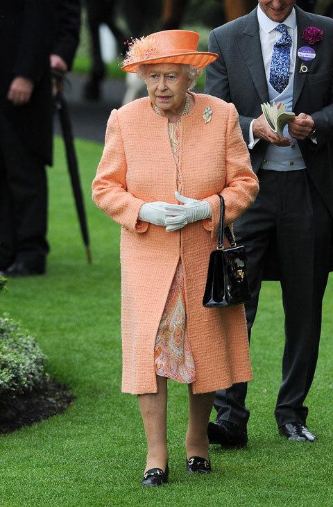 El tono anaranjado fue el elegido para las carreras de Ascot en 2015....
