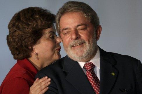 Dilma Rousseff y Lula da Silva en una fotografía de marzo de 2010.