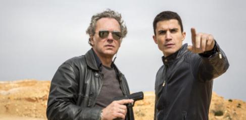 José Coronado y Álex González, en la serie 'El Príncipe'.