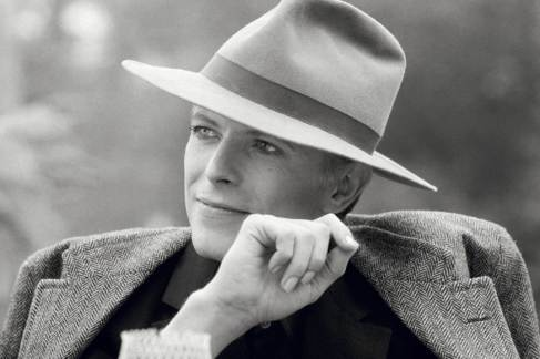 David Bowie por Terry O'Neill.