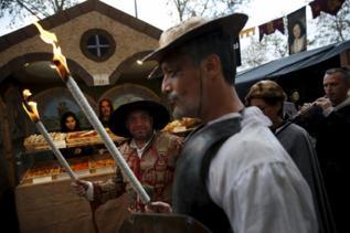 Representación de 'El Quijote' en Alcalá.