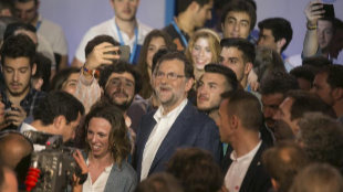 Mariano Rajoy, en la clausura de la Convención Nacional de Nuevas...