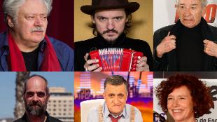 Mario Gas, Coque Malla, José Sacristán, Luis Tosar, Gran Wyoming e...